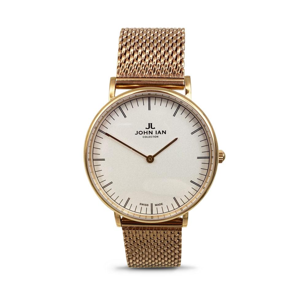 JOHN IAN Classic Quartz - Gilt Watch