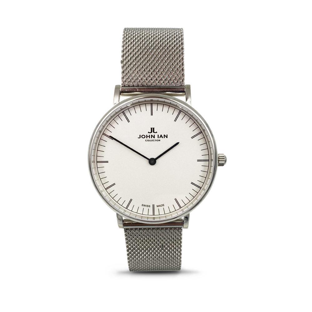 JOHN IAN Classic Quartz - Steel Watch