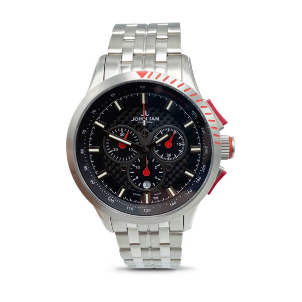 JOHN IAN Sport H3 Fashion RED Watch