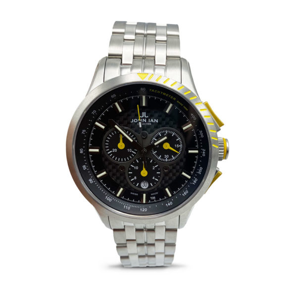 JOHN IAN Sport H3 Fashion YELLOW Watch